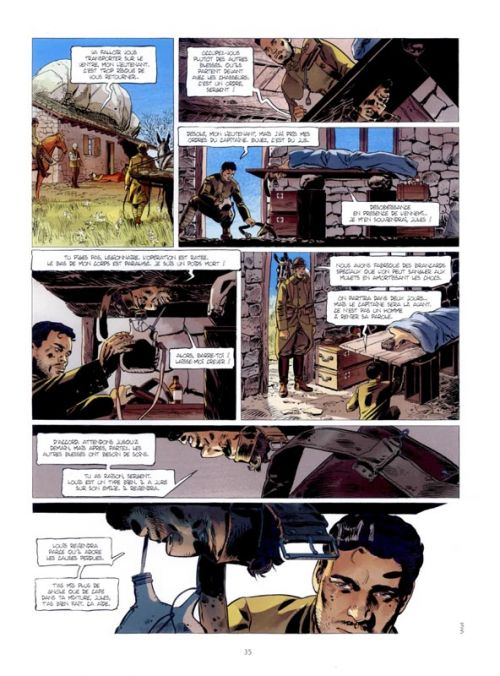 L'ambulance 13 – cycle 4, T7 : Les oubliés d'orient (0), bd chez Bamboo de Ordas, Mounier, Bouët