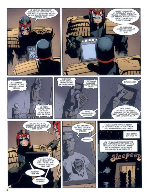 Judge Dredd Origines, comics chez Délirium de Wagner, Walker, Ezquerra, Collectif, Bolland