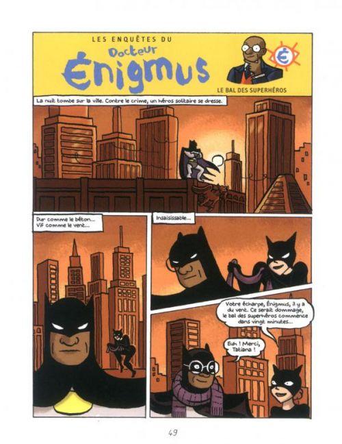 Les Enquêtes du docteur Enigmus T2 : Le sceptre des templiers (0), bd chez Bayard de Martin, Broersma