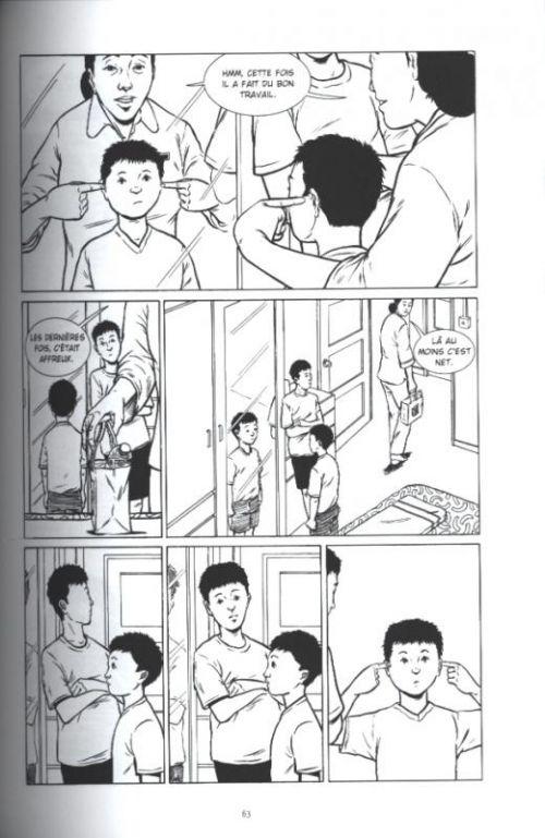 L'homme de la maison, bd chez Steinkis de Hong Teng, Chua