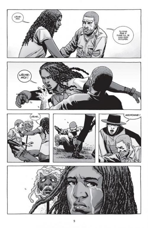 Walking Dead T25 : Sang pour sang (0), comics chez Delcourt de Kirkman, Gaudiano, Adlard, Rathburn