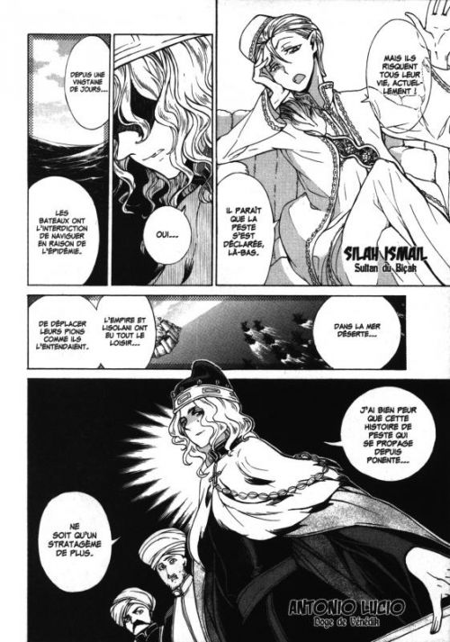Altaïr T10, manga chez Glénat de Katô