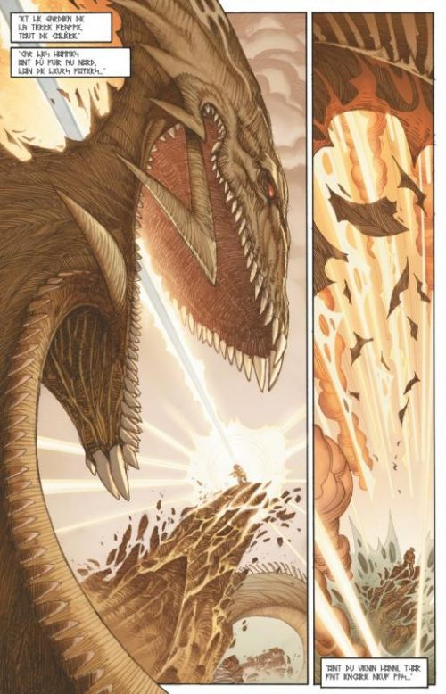 Ragnarök T1 : Le dernier Dieu (0), comics chez Glénat de Simonson, Martin