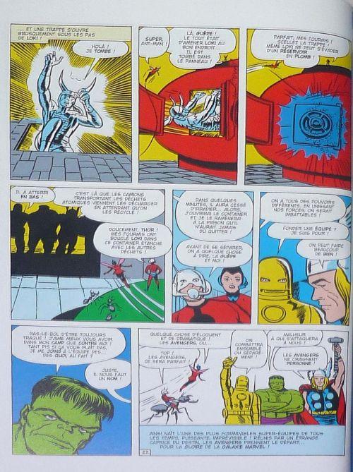 Marvel Comics : le meilleur des super-héros T1 : Les Avengers (0), comics chez Hachette de Busiek, Lee, Vey, Kirby, Perez, Smith, Ayers