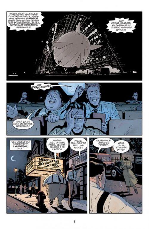 Lobster Johnson T3 : Une fragrance de lotus (0), comics chez Delcourt de Mignola, Arcudi, Torres, Zonjic, Querio, Nowlan, Fiumara, Stewart