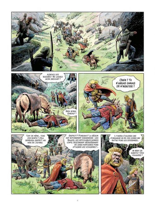 Les Mondes de Thorgal – cycle La jeunesse de Thorgal, T4 : Berserkers (0), bd chez Le Lombard de Yann, Surzhenko