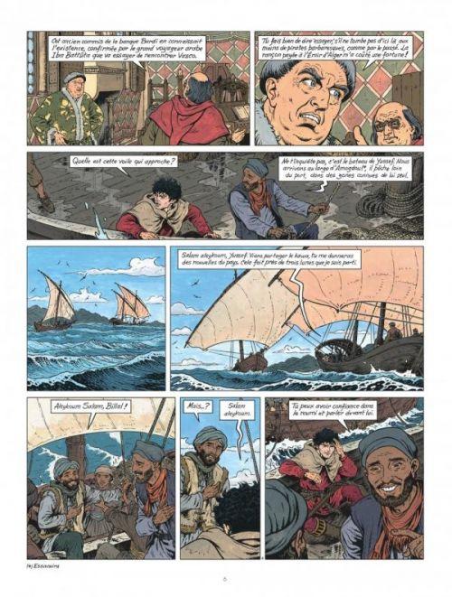Vasco T27 : Les Citadelles de sable (0), bd chez Le Lombard de Chaillet, Révillon, Rousseau, Chaillet