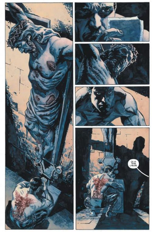 Suiciders T1 : Les hauteurs de l'abîme (0), comics chez Urban Comics de Bermejo, Hollingsworth