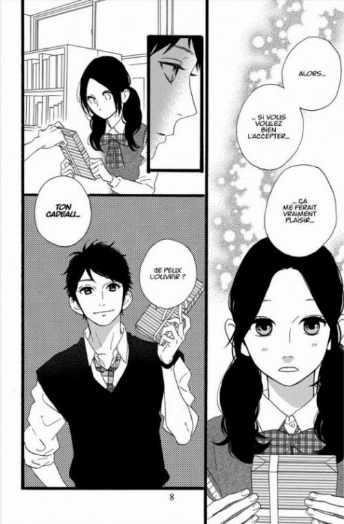 Daytime shooting star T6, manga chez Kana de Yamamori