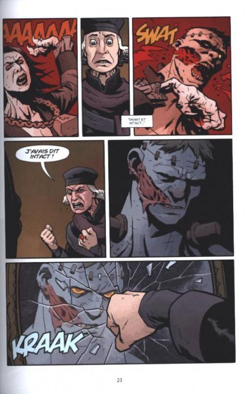 Frankenstein Underground, comics chez Delcourt de Mignola, Stenbeck, Stewart