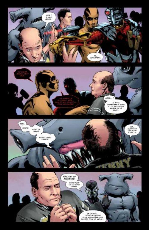 Suicide Squad T1 : Têtes brûlées (0), comics chez Urban Comics de Glass, Richards, Guara, Henry, Getty, Dallochio, Bressan, Passalaqua, Staples, Benjamin