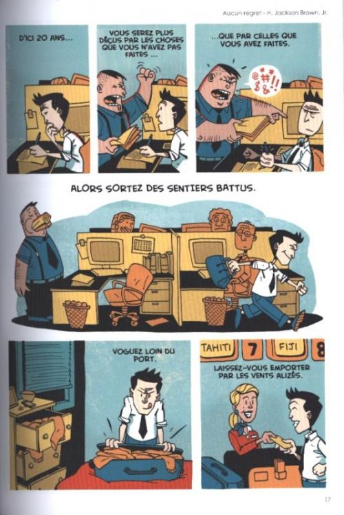 Zen pencils, comics chez Monsieur Pop Corn de Aung Than