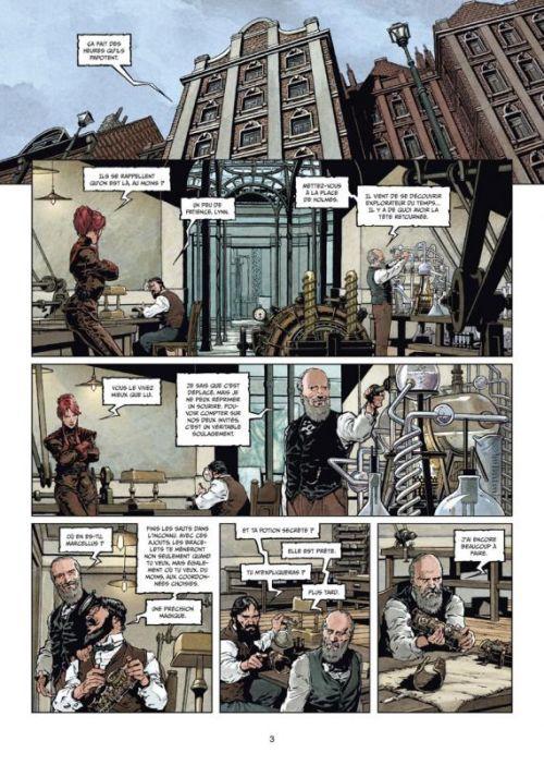 Sherlock Holmes et les voyageurs du temps T2 : Fugit Irreparabile Tempus (0), bd chez Soleil de Cordurié, Laci, Gonzalbo, Benoît
