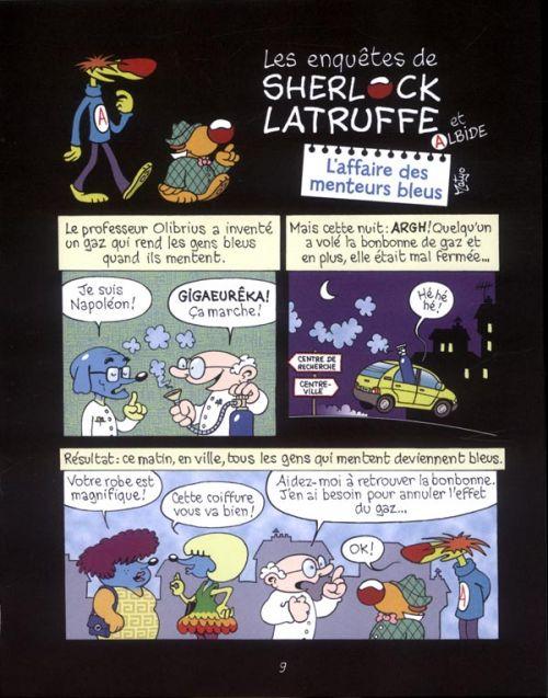 Les Enquêtes de Sherlock Latruffe T1 : Gigawatt ! (0), bd chez Bayard de Matyo
