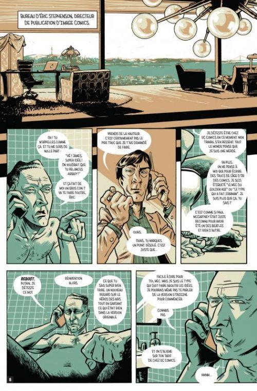 Airboy, comics chez Jungle de Robinson, Hinkle