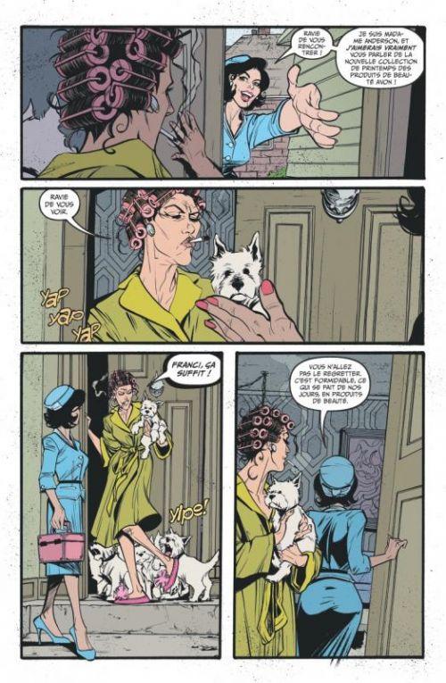 Lady Killer T1 : À couteaux tirés (0), comics chez Glénat de Jones, Rich, Allred