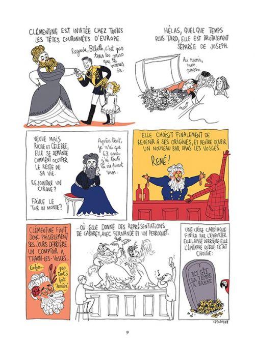 Les culottées T1, bd chez Gallimard de Bagieu