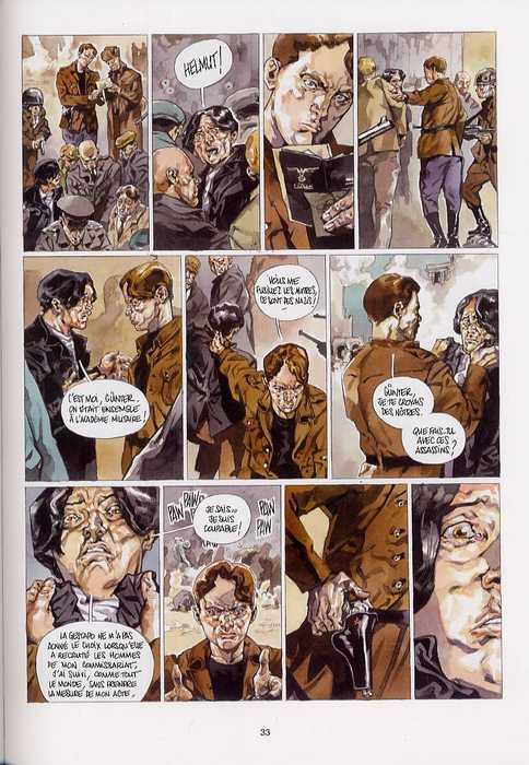 Sir Arthur Benton T3 : L'assaut final (0), bd chez Emmanuel Proust Editions de Tarek, Perger