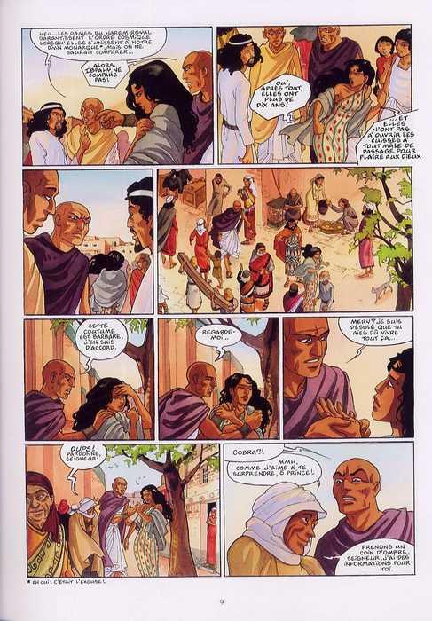 Sur les terres d'Horus T6 : Hori ou le courroux d'Istar (0), bd chez Delcourt de Dethan