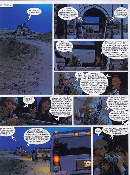 Alpha T10 : Mensonges (0), bd chez Le Lombard de Mythic, Jigounov