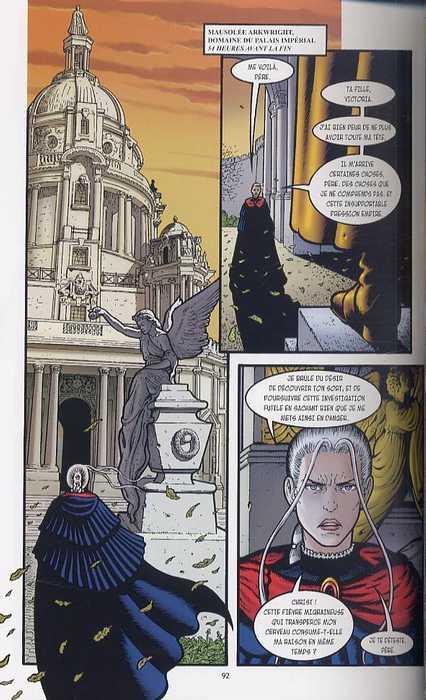 Au coeur de l'Empire T1 : Héritage de Luther Arkwright (0), comics chez Kyméra de Talbot
