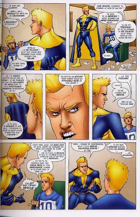 Heros² : Miroir déformant (0), comics chez Bamboo de de Matteis, Giffen, Abraham