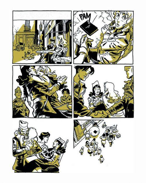 Insoumises, bd chez Les éditions du Long Bec de Cosnava, Ruben