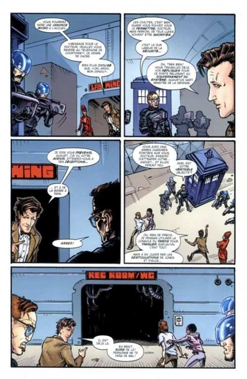 Doctor Who - Le Onzième Docteur T1 : Au-delà (0), comics chez Akileos de Ewing, Williams, Fraser, Cook, Hi-fi colour, Caldwell, Zhang