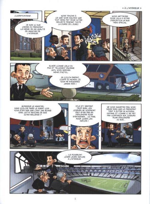 Le Réveil des bleus, bd chez Hugo BD de Fernandes, Tourriol, Carreres, Merle, Kompf