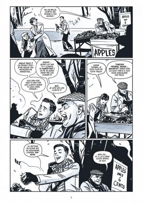 The New Deal, comics chez Glénat de Case