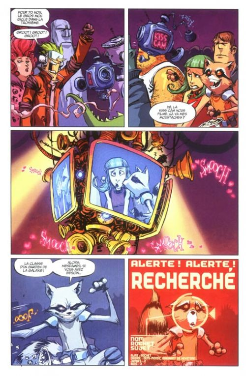 Rocket Raccoon T1 : Il était un Groot... (0), comics chez Panini Comics de Young, Parker, Beaulieu
