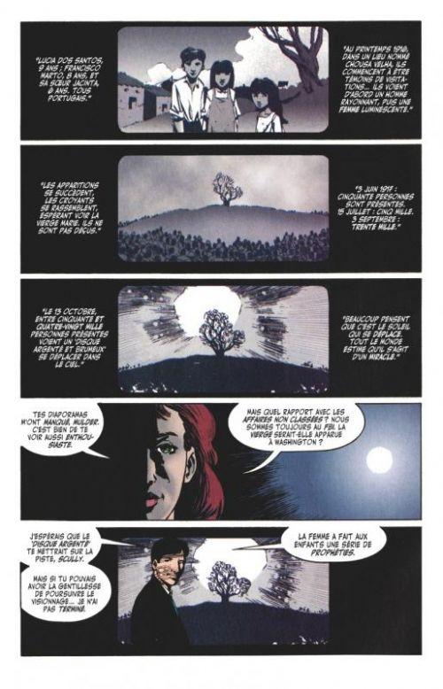 The X-Files [Archives] T1 : Les affaires non classées du FBI (0), comics chez Glénat de Petrucha, Adlard, Freeman, Smith