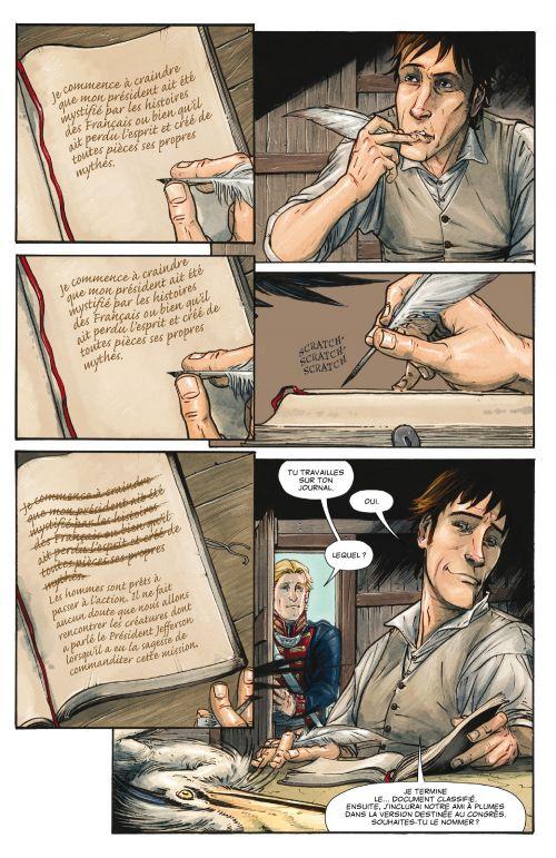 Manifest Destiny T1 : La faune et la flore (0), comics chez Delcourt de Dingess, Roberts, Gieni
