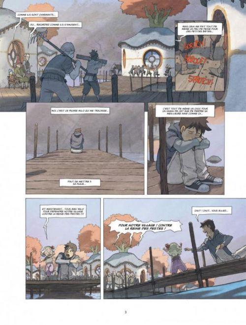 Le Monde de Milo – cycle 2, T4, bd chez Dargaud de Marazano, Ferreira