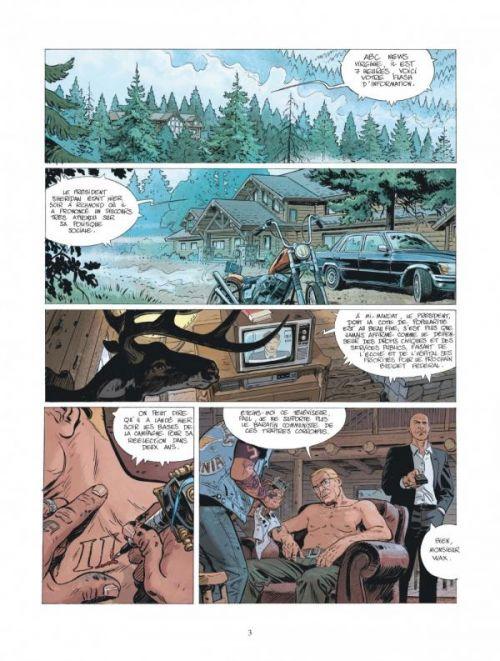 XIII Mystery T10 : Calvin Wax (0), bd chez Dargaud de Duval, Rouge, Boucq