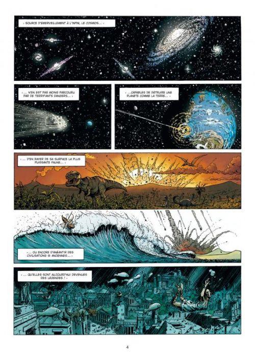 La Grande guerre des mondes T1 : La chose sous les tranchées (0), bd chez Soleil de Richard D.Nolane, Vladetic, Folny, Loyvet