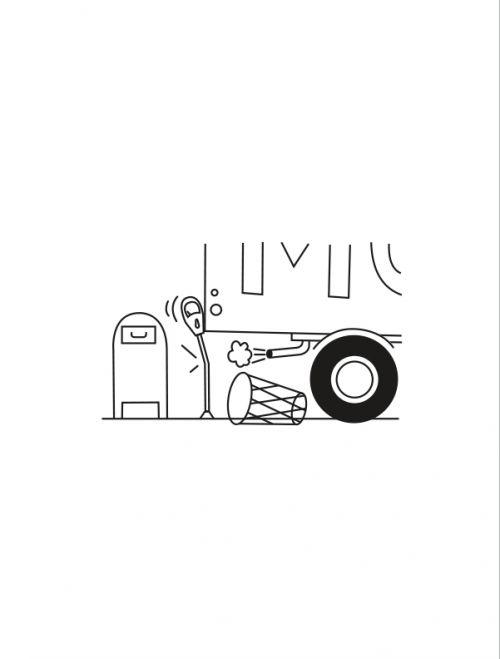 Dessins Séquences : Série du New Yorker (0), bd chez Gallimard de McGuire