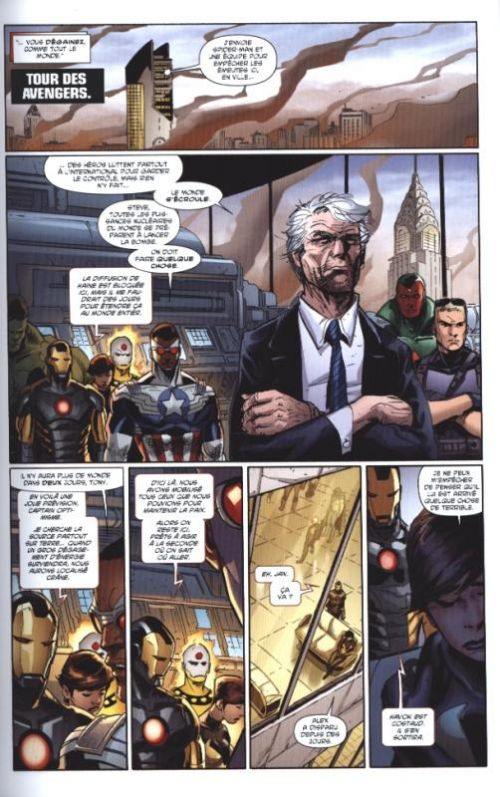 AXIS - Avengers & X-Men : Inversion (0), comics chez Panini Comics de Remender, Dodson, Kubert, Cheung, Yu, Milla, Mounts, Delgado, Martin, Aburtov