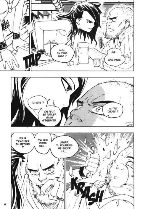Le Visiteur du Futur - La Brigade Temporelle T1, manga chez Ankama de Descraques, Lapeyre
