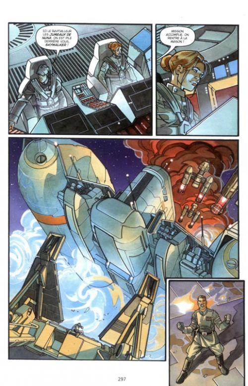 Star Wars - Rébellion T1, comics chez Delcourt de Andrews, Hartley, Lacombe, Fabbri, Melo, Domenico, Atiyeh, Giorello
