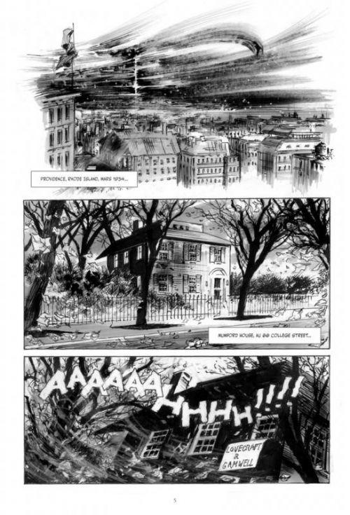 Voyage au pays de la peur, comics chez Glénat de Rodolphe, Dzialowski