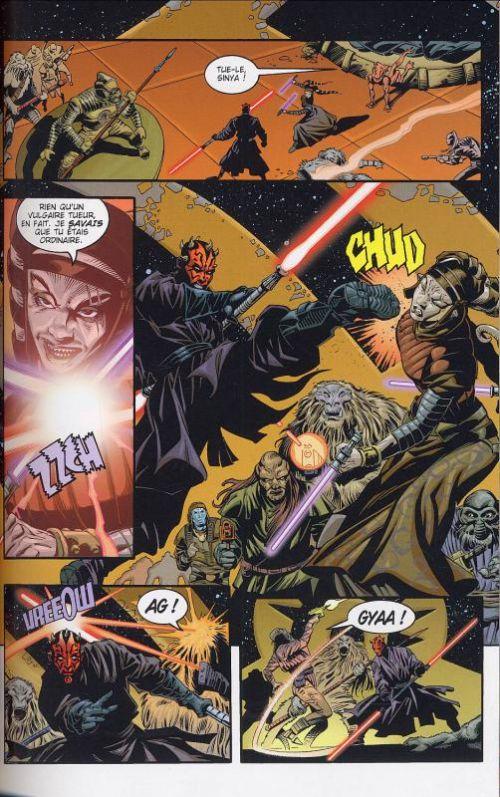 Star Wars - Le côté obscur T2 : Dark Maul (0), comics chez Delcourt de Marz, Duursema, McCaig