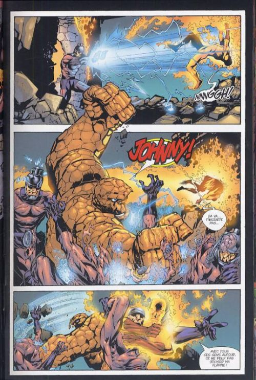 Fantastic Four T2 : Coup de force (0), comics chez Panini Comics de Waid, Wieringo, Smith, Porter, Milla, Mounts