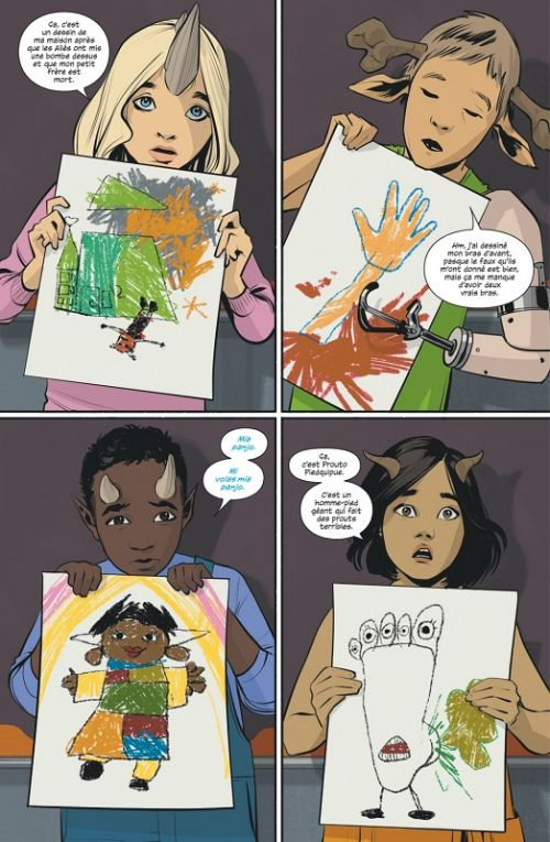 Saga T6, comics chez Urban Comics de Vaughan, Staples