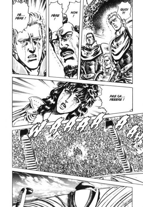 Hokuto no Ken – Edition Deluxe, T14, manga chez Kazé manga de Buronson, Hara