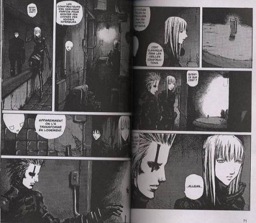Blame ! – Edition simple, T8, manga chez Glénat de Nihei