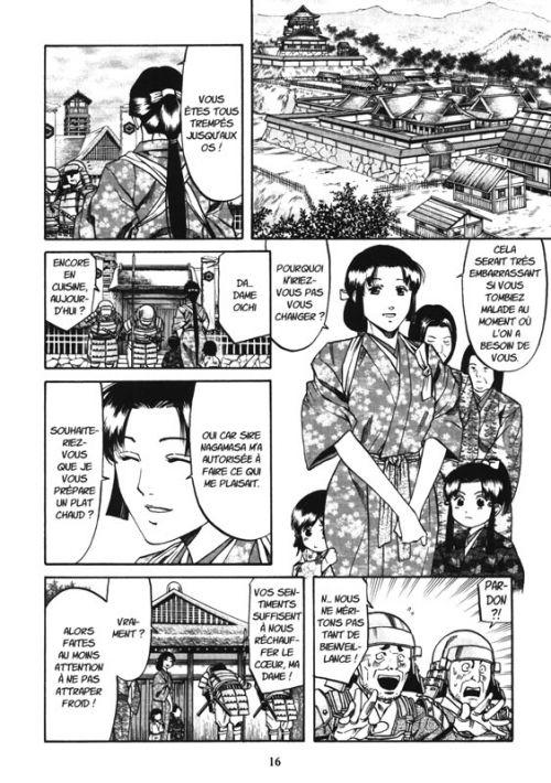 Le chef de Nobunaga T11, manga chez Komikku éditions de Kajikawa