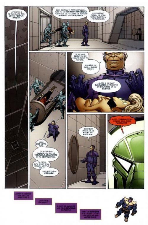 Thanos T2 : La relativité de l'Infini (0), comics chez Panini Comics de Starlin, Rosenberg, d' Armata