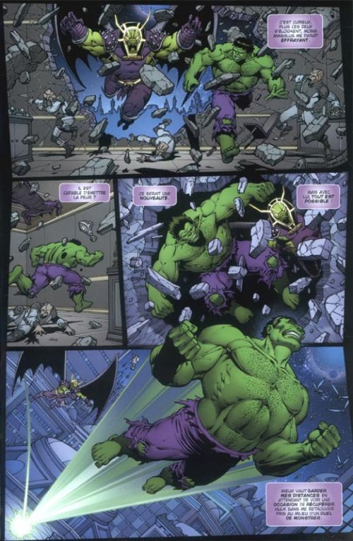 Thanos vs Hulk, comics chez Panini Comics de Starlin, d' Armata