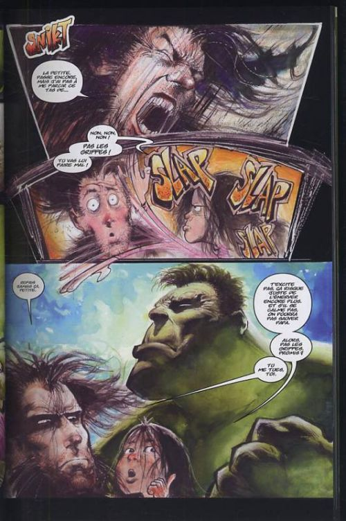 Wolverine Hulk T1 : La Délivrance (0), comics chez Panini Comics de Kieth, Isanove